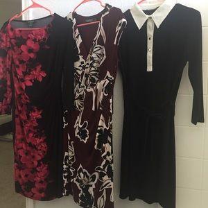 """Calvin Klein """"Gorgeous"""" dresses."""